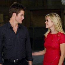 Una spia non basta: Reese Witherspoon in una scena del film con Chris Pine