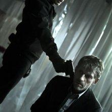 Lambert Wilson con Jacques Gamblin nel thriller À l'aveugle
