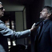 Lambert Wilson e Jacques Gamblin nel film À l'aveugle