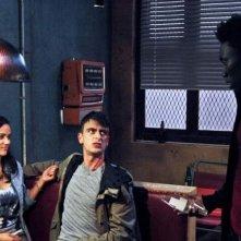 Misfits: Nathan Stewart-Jarrett in una scena del primo episodio della stagione 3
