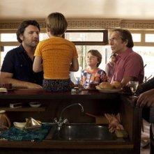 Nos plus belles vacances: Philippe Lellouche, Gérard Darmon, Christian Vadim in una scena.