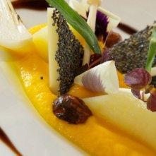 Uno degli elaborati piatti della commedia francese 'Chef'