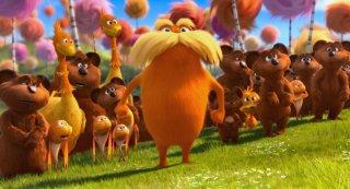 Lorax - Il guardiano della foresta: la protesta di Lorax e di tutti gli abitanti della Valle di Truffula