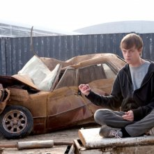 Chronicle: Dane DeHaan in un momento del film