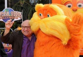Lorax - Il guardiano della foresta: Danny DeVito sul red carpet degli Universal Studios di Los Angeles