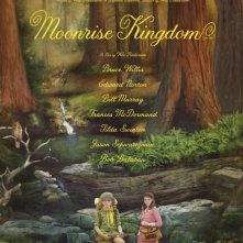 Moonrise Kingdom: locandina in sile fiabesco per il film di Wes Anderson