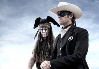 The Lone Ranger: Johnny Depp ed Armie Hammer nella primissima foto del film