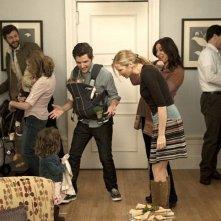 Chris O'Dowd, Maya Rudolph con Adam Scott e Jennifer Westfeld in Friends With Kids