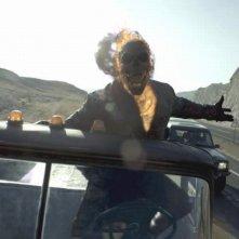 Ghost Rider: Spirito di vendetta, il motociclista fantasma in una scena del film