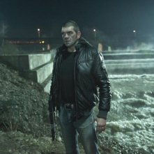 Ghost Rider: Spirito di vendetta, Spencer Wilding in una scena del film nei panni di Grannik