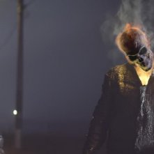 Ghost Rider: Spirito di vendetta, uno degli effetti speciali del film