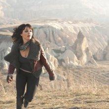 Ghost Rider: Spirito di vendetta, Violante Placido in una movimentata scena del film