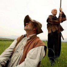 Quijote: Peppe Servillo e Lucio Dalla in una scena del film