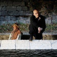 Quijote: Peppe Servillo e Lucio Dalla in una scena tratta dal film