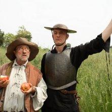 Quijote: Peppe Servillo insieme a Lucio Dalla in una scena del film