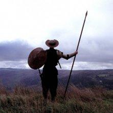 Quijote: una scena del film diretto da Mimmo Paladino