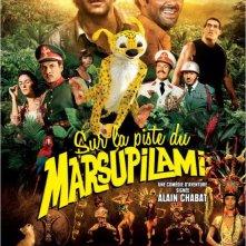 Sur la piste du Marsupilami: la locandina del film