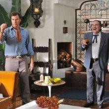 Pedro Armendariz Jr. e Will Ferrell in Casa de mi padre