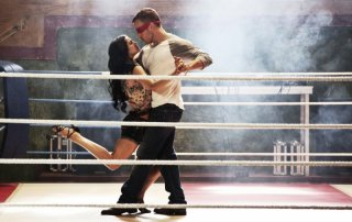 StreetDance 2: Falk Hentschel insieme a Sofia Boutella ballano in una scena del film