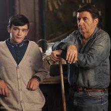 StreetDance 2:George Sampson in una scena del film con Tom Conti