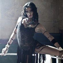 StreetDance 2: Sofia Boutella si prepara per un numero di danza in una scena del film