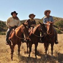 Will Ferrell nella commedia Casa de mi padre con Adrian Martinez ed Efren Ramirez