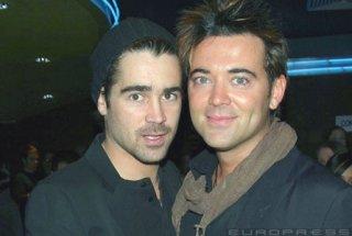 Colin Farrell con suo fratello Eamonn