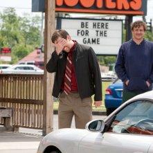 Ed Helms e Jason Segel sono Pat e Jeff nel film Jeff Who Lives at Home