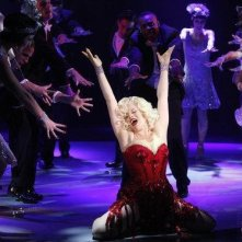 Megan Hilty protagonista del musical Marilyn in Smash dall'episodio Senza inibizioni