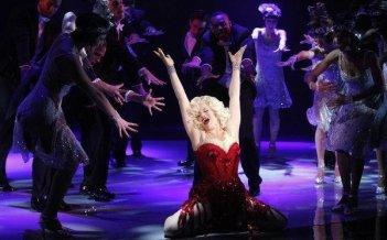 Megan Hilty protagonista del musical Marilyn in Smash dall'episodio Senza inibizioni