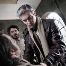 Romanzo di una strage: Giorgio Marchesi e Danis Fasolo in una scena del film