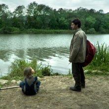 Sàmara: Denis Bejzaku insieme a Filippo Trojano in una scena del film