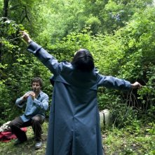 Sàmara: Federica Pulvirenti in una scena del film con Filippo Trojano