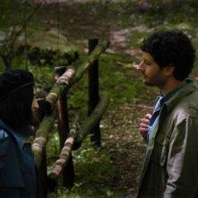 Sàmara: Filippo Trojano insieme a Federica Pulvirenti in una scena del film