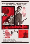 Five Minutes to Live: la locandina del film