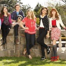 Nemiciperlapelle: Il cast del film TV in una foto promozionale