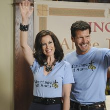 GCB: Miriam Shor e Mark Deklin nell'episodio Love Is Patient