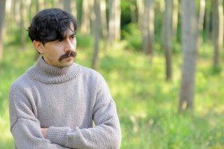 Luigi Lo Cascio in una scena del film tv di Rai Uno, Il sogno del maratoneta