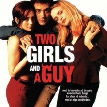 Two Girls and a Guy: la locandina del film