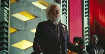 Donald Sutherland in Hunger Games