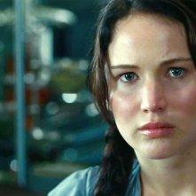 Hunger Games: un primo piano di Jennifer Lawrence