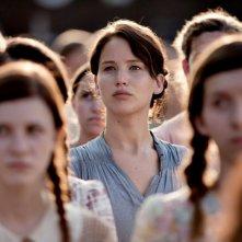 Jennifer Lawrence è Katniss in Hunger Games