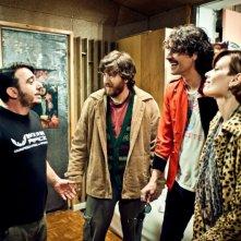 I più grandi di tutti: Claudia Pandolfi, Alessandro Roja e Marco Cocci in una scena del film