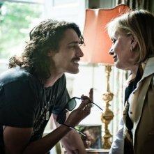 I più grandi di tutti: Marco Cocci insieme a Catherine Spaak in una scena del film