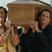 Non me lo dire: Uccio De Santis insieme a Umberto Sardella e Nando Paone in una scena del film