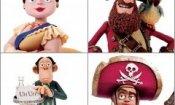 Pirati! Briganti da strapazzo: quattro poster esclusivi