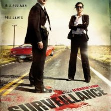 Surveillance: la locandina italiana del film