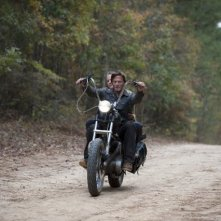 The Walking Dead: Norman Reedus è Daryl nell'episodio La linea del fuoco