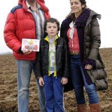 Cédric Constantin, François Damiens  con Audrey Dana in una immagine promo di Torpedo