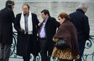 Michel Muller in Hénaut président con Olivier Gourmet
